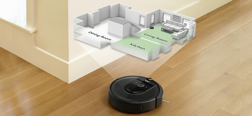 iRobot's Roomba i7 with imprint smart mapping feature