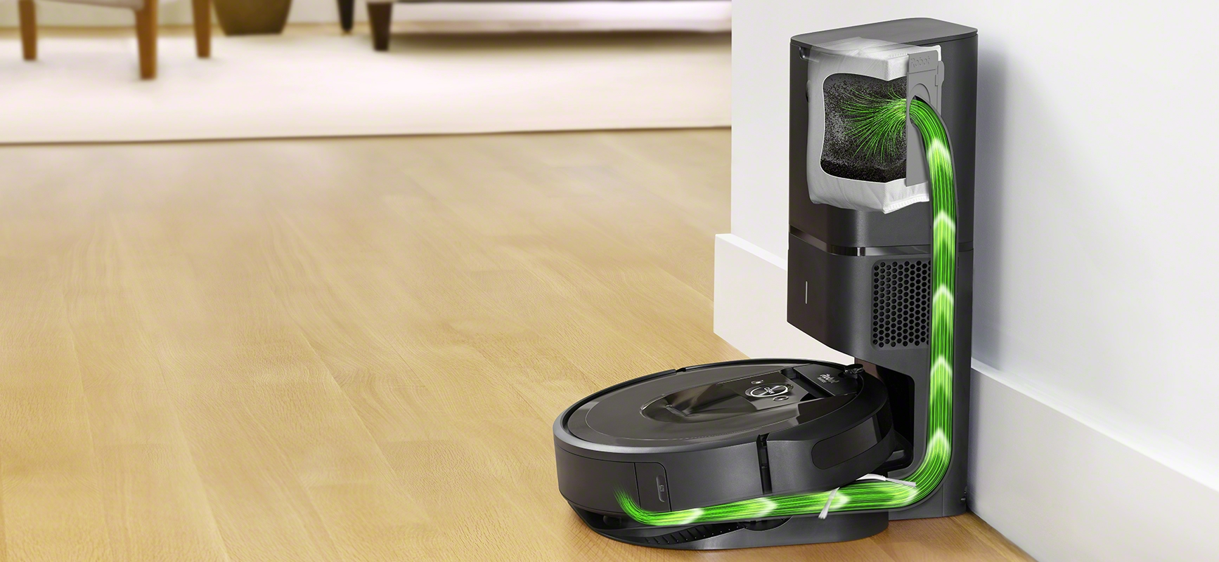 iRobot Roomba i7+ with Automatic Dirt Disposal