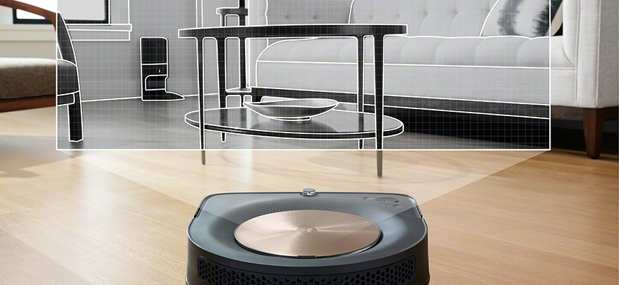 iRobot's Roomba s9 using VSLAM navigation