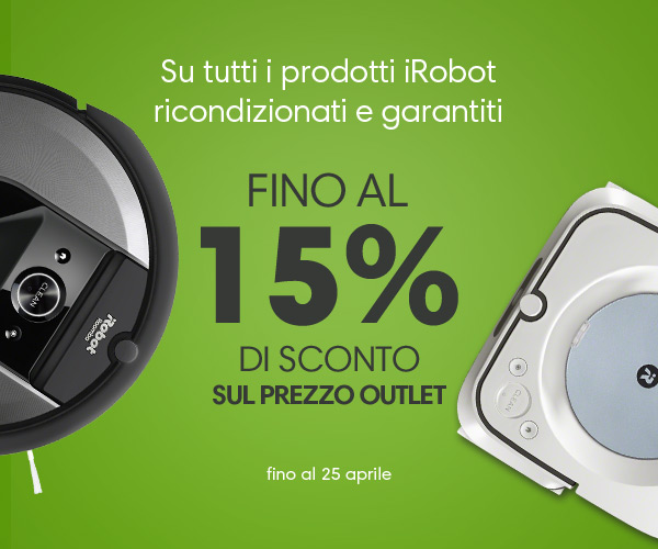 Promo iRobot Outlet