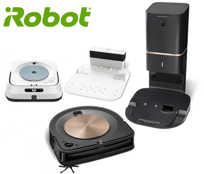 iRobot Roomba s9+ e Braava jet m6