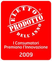 Eletto Prodotto dell'Anno 2009