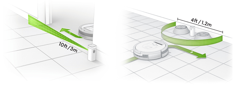 Recensione irobot roomba 895: Dual Mode Virtual Wall