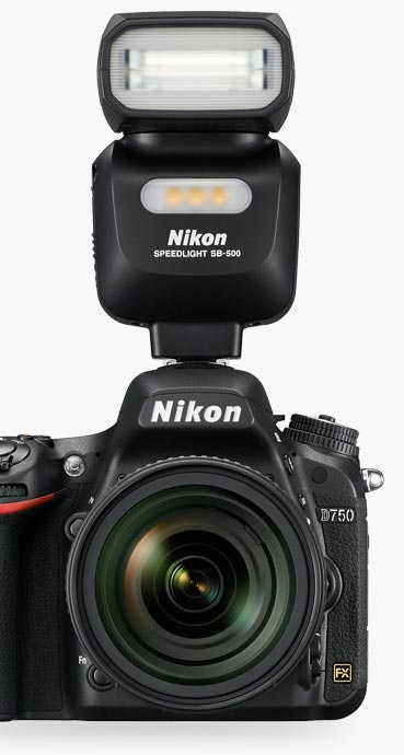 Sb 500 flash ttl vendita canon pentax nikon grosseto for Flash nikon sb 500