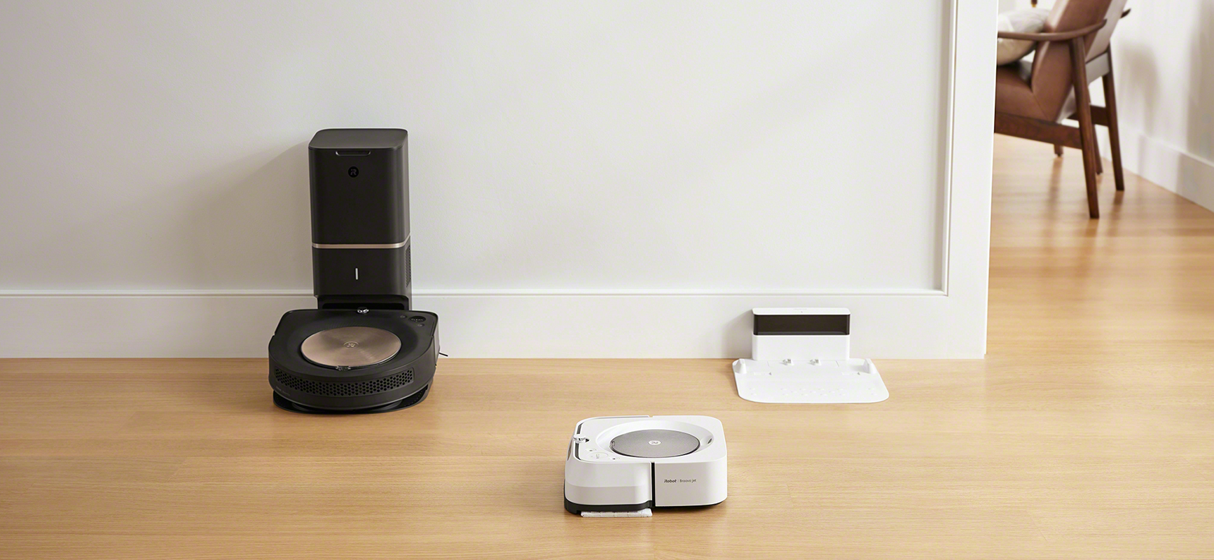 iRobot's Roomba s9 and Braava m6 teaming