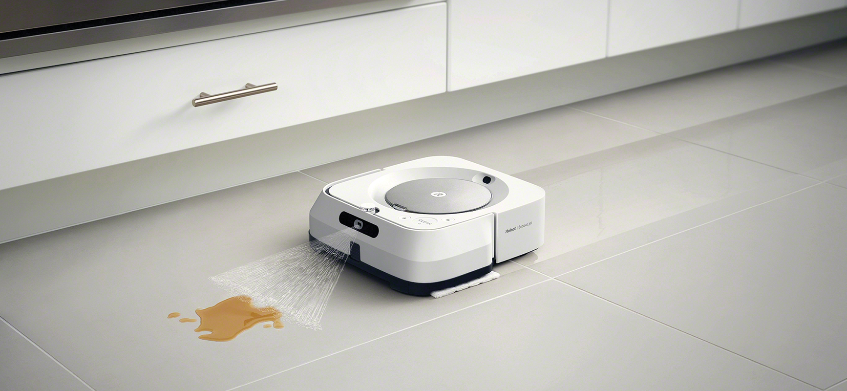 irobot braava m6 spray