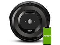iRobot Roomba e5 with phone