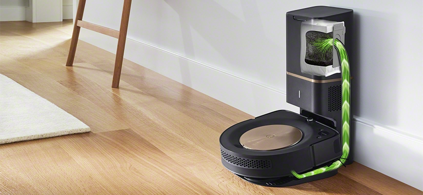 iRobot Roomba s9+ Wi-Fi Connected Robot Vacuum with Automatic Dirt Disposal