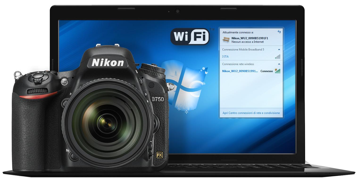 Nikon Wi-Fi: controllo remoto wireless da smartphone, tablet