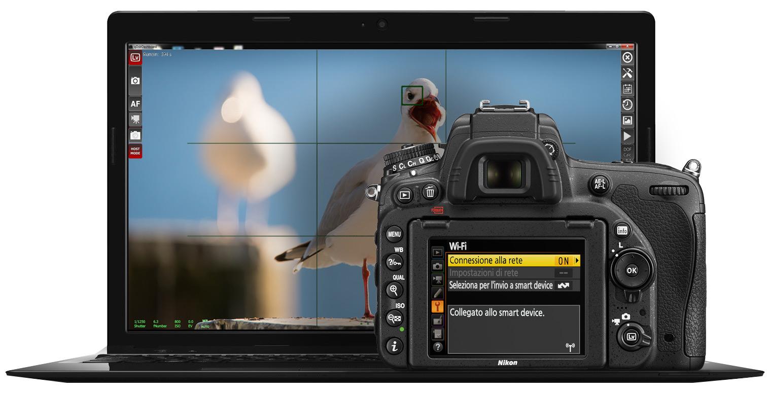 Nikon Wi-Fi: controllo remoto wireless da smartphone, tablet e computer