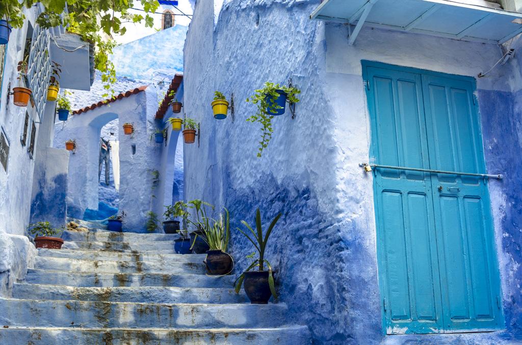 Case Blu Marocco : Chefchaouen la città blu