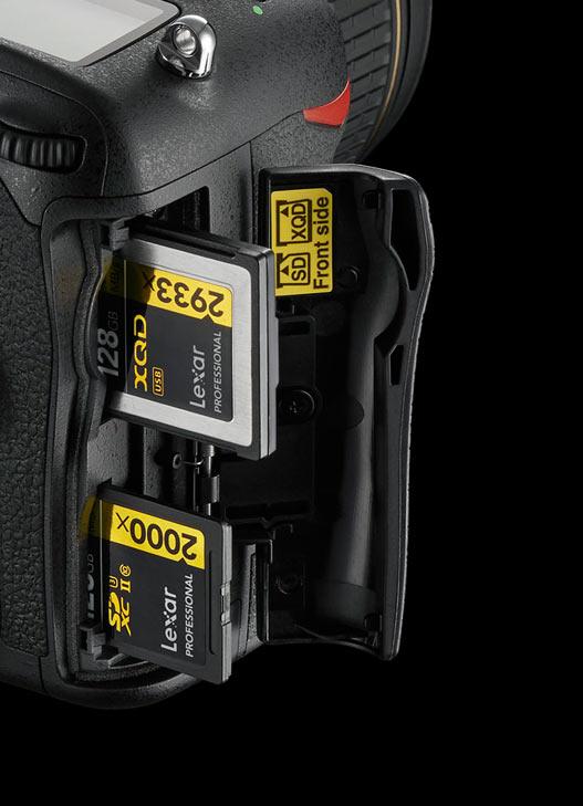 Nikon slot XQD