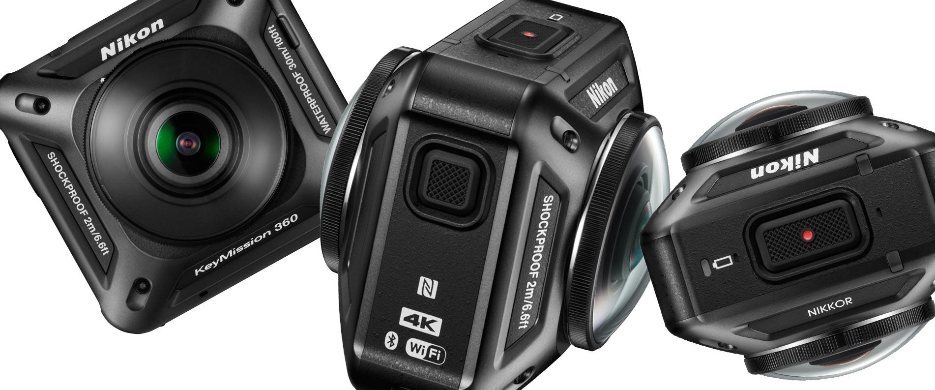 la nuova telecamera è un cubettino nero tutto obbiettivo