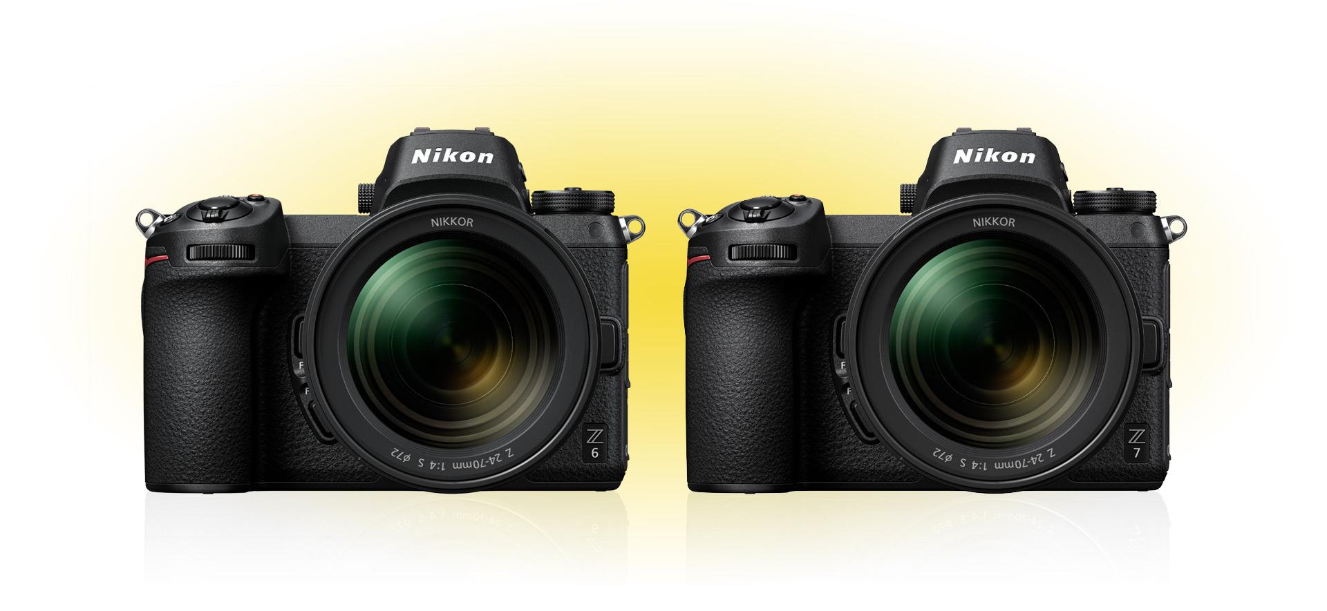 Risultati immagini per Nikon nuovo sistema Z-Mount e due fotocamere mirrorless a pieno formato: la Z 7 e la Z 6